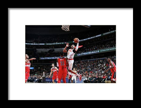 Nba Pro Basketball Framed Print featuring the photograph Vince Carter by Stephen Gosling