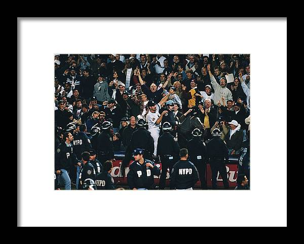 Horse Framed Print featuring the photograph Wade Boggs by Ronald C. Modra/sports Imagery