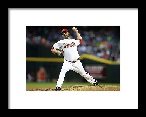 Baseball Pitcher Framed Print featuring the photograph Wade Miley by Christian Petersen