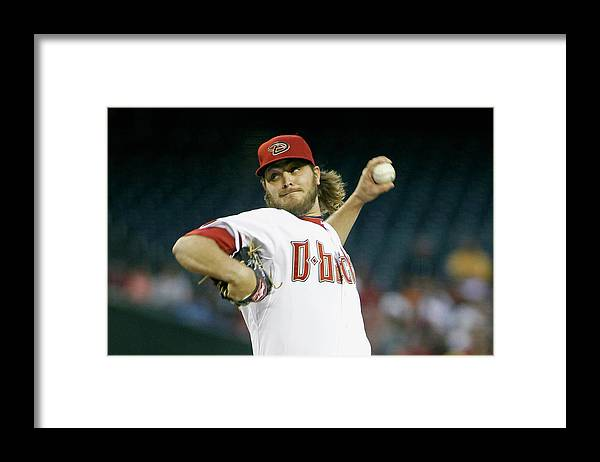 American League Baseball Framed Print featuring the photograph Wade Miley by Ralph Freso