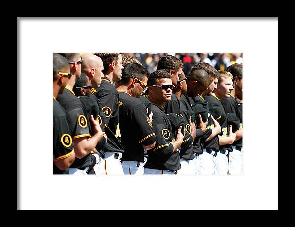 Professional Sport Framed Print featuring the photograph Wandy Rodriguez by Justin K. Aller