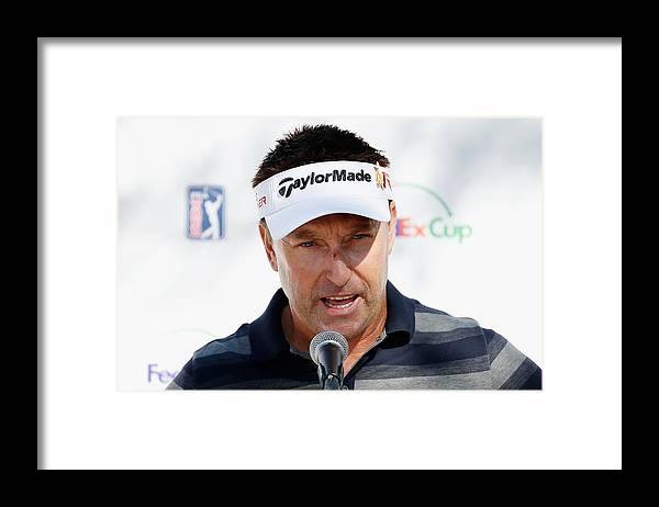 People Framed Print featuring the photograph Waste Management Phoenix Open - Previews by Scott Halleran