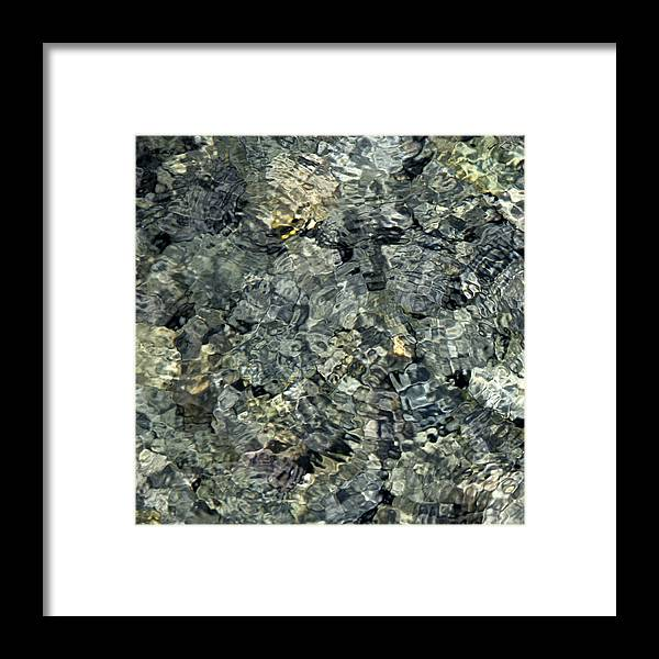 Water Framed Print featuring the photograph Water Rocks 1 by Andre Aleksis