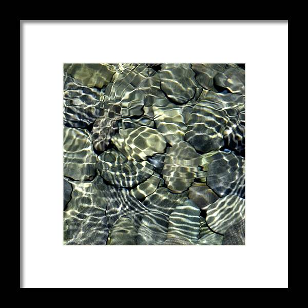 Water Framed Print featuring the photograph Water Rocks 2 by Andre Aleksis