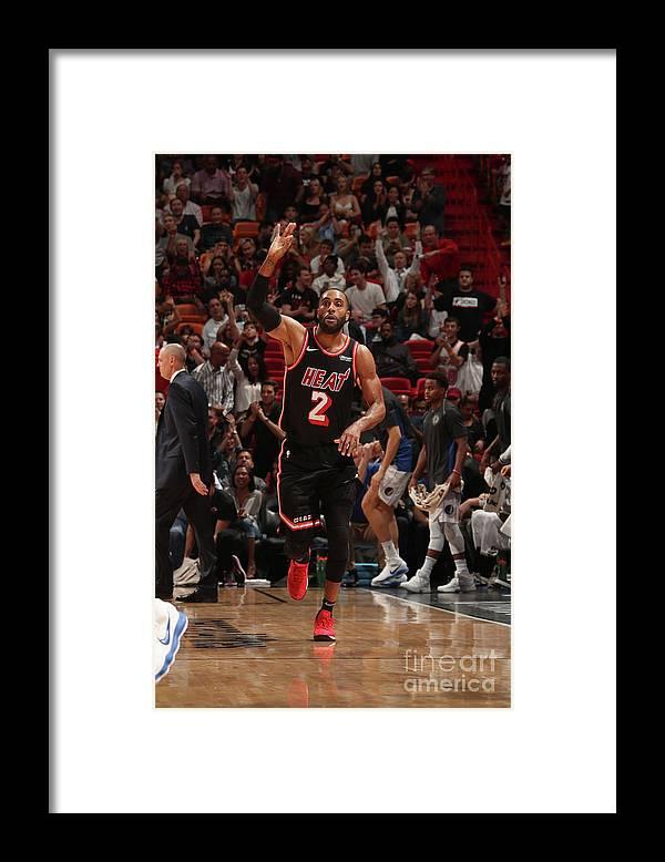 Nba Pro Basketball Framed Print featuring the photograph Wayne Ellington by Issac Baldizon