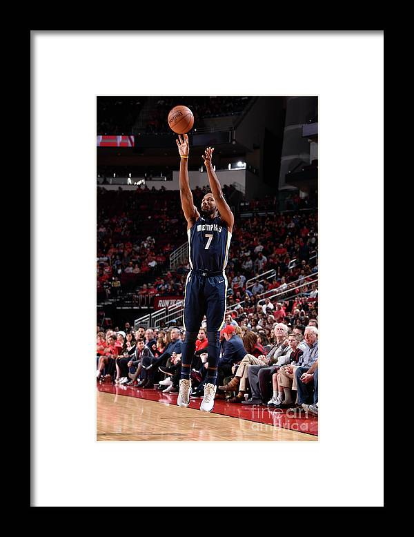 Nba Pro Basketball Framed Print featuring the photograph Wayne Selden by Bill Baptist