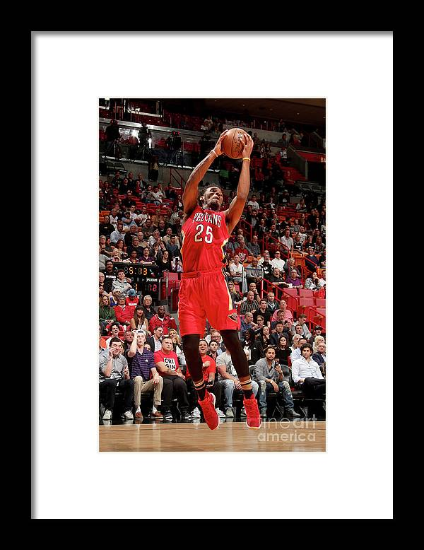 Nba Pro Basketball Framed Print featuring the photograph Wayne Selden by Issac Baldizon