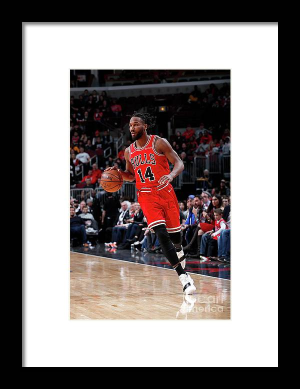 Nba Pro Basketball Framed Print featuring the photograph Wayne Selden by Jeff Haynes