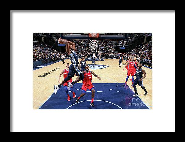 Nba Pro Basketball Framed Print featuring the photograph Wayne Selden by Joe Murphy