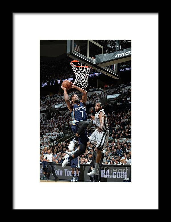 Playoffs Framed Print featuring the photograph Wayne Selden by Mark Sobhani