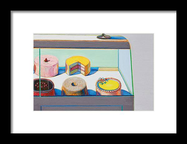 Wayne Thiebaud Encased Cakes by Dan Hill Galleries