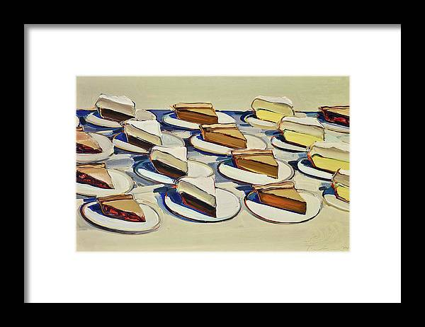 Wayne Thiebaud Pies by Dan Hill Galleries