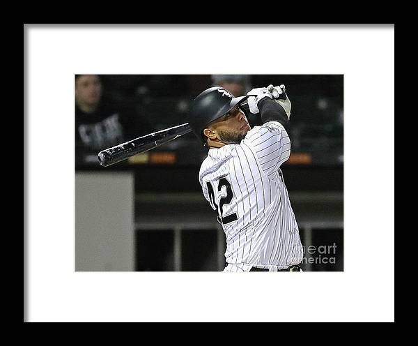 People Framed Print featuring the photograph Welington Castillo by Jonathan Daniel