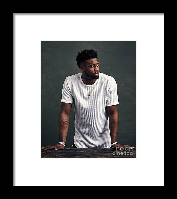 Event Framed Print featuring the photograph Wesley Matthews by Jennifer Pottheiser