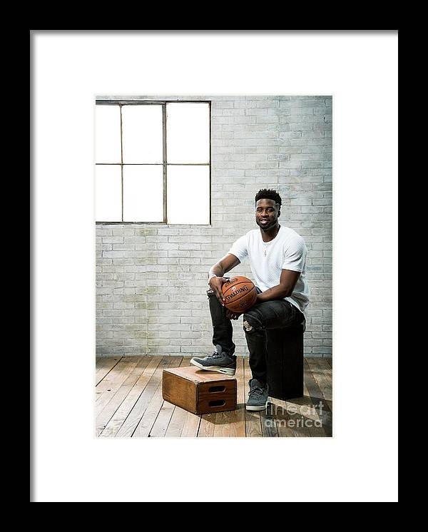 Nba Pro Basketball Framed Print featuring the photograph Wesley Matthews by Nathaniel S. Butler