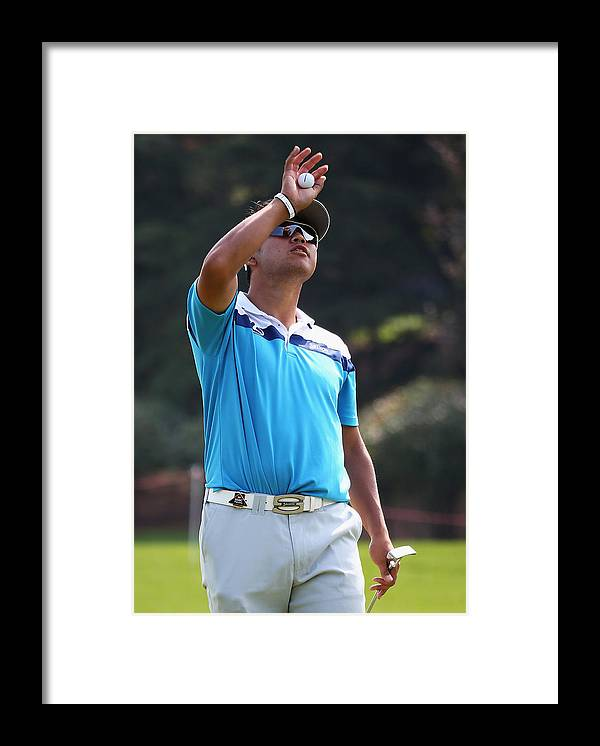 Pro-am Framed Print featuring the photograph WGC - HSBC Champions: Previews by Matthew Lewis