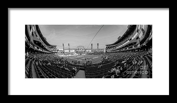 White Sox Framed Print featuring the photograph White Sox Park by David Bearden