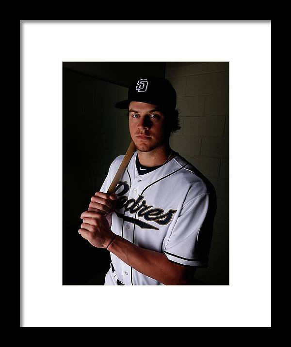 Media Day Framed Print featuring the photograph Wil Myers by Christian Petersen