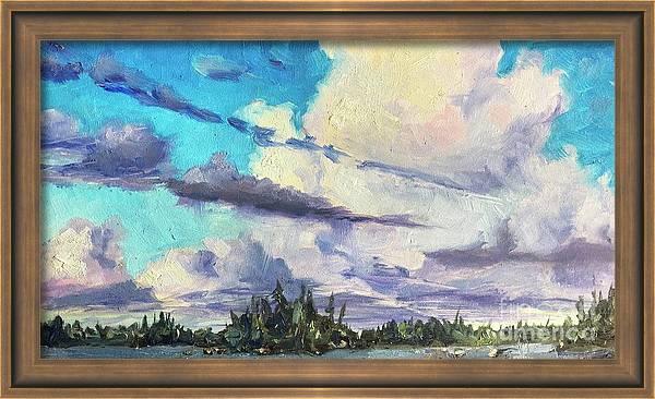 Wilderness Painting N57 by Ric Nagualero