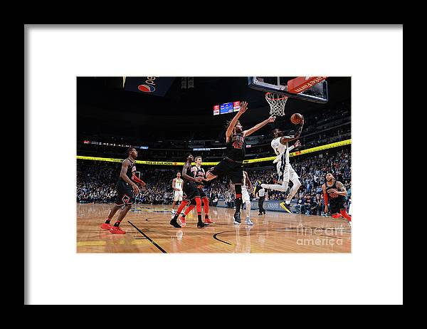 Nba Pro Basketball Framed Print featuring the photograph Will Barton by Bart Young