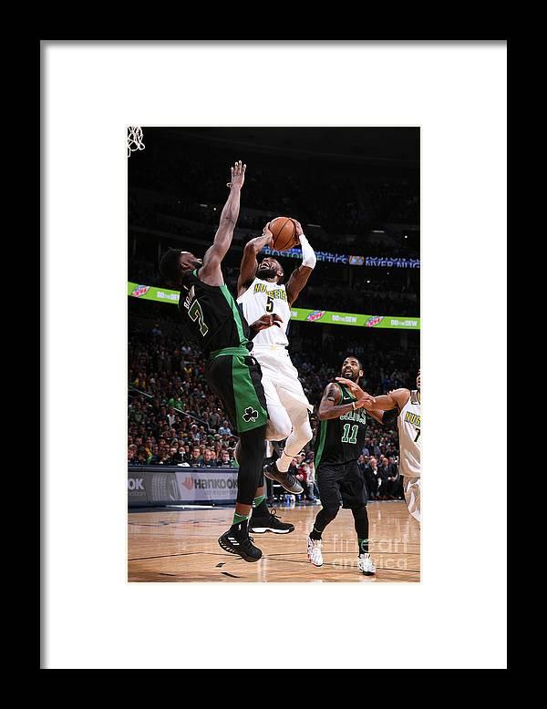 Nba Pro Basketball Framed Print featuring the photograph Will Barton by Garrett Ellwood
