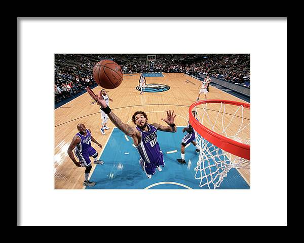 Nba Pro Basketball Framed Print featuring the photograph Willie Cauley-stein by Glenn James