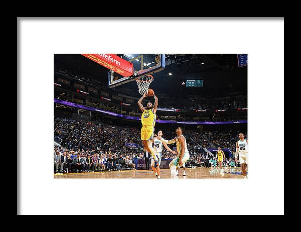 San Francisco Framed Print featuring the photograph Willie Cauley-stein by Noah Graham