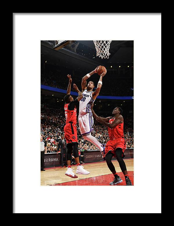 Nba Pro Basketball Framed Print featuring the photograph Willie Cauley-stein by Ron Turenne