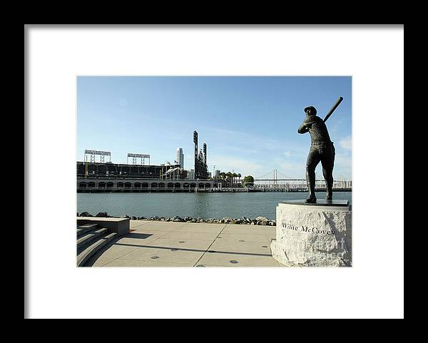 San Francisco Framed Print featuring the photograph Willie Mccovey by Icon Sports Wire