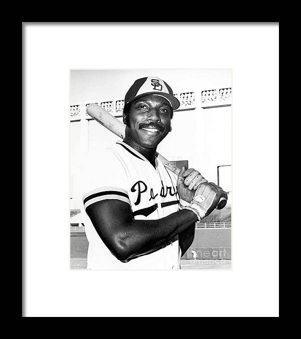 People Framed Print featuring the photograph Willie Mccovey by National Baseball Hall Of Fame Library