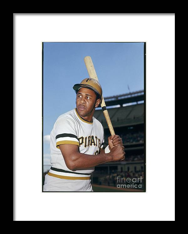 Sports Bat Framed Print featuring the photograph Willie Stargell by Louis Requena