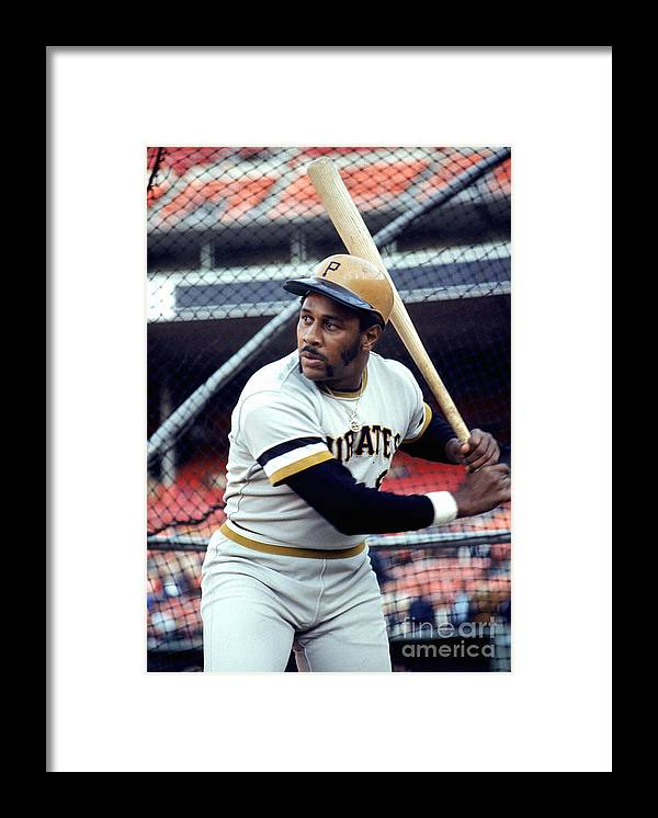 Baseball Cage Framed Print featuring the photograph Willie Stargell by Michael Zagaris