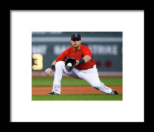 American League Baseball Framed Print featuring the photograph Wills by Jared Wickerham