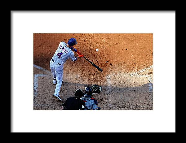 People Framed Print featuring the photograph Wilmer Flores by Jim Mcisaac