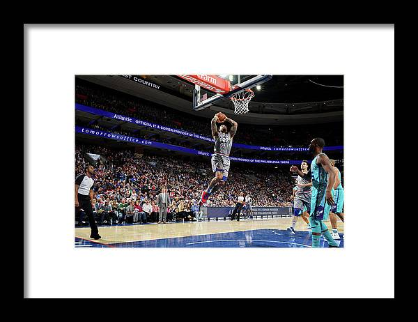 Nba Pro Basketball Framed Print featuring the photograph Wilson Chandler by Jesse D. Garrabrant
