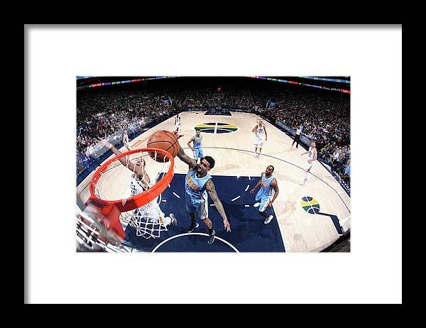 Nba Pro Basketball Framed Print featuring the photograph Wilson Chandler by Melissa Majchrzak