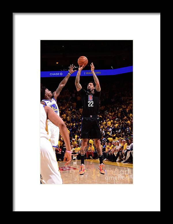 Playoffs Framed Print featuring the photograph Wilson Chandler by Noah Graham
