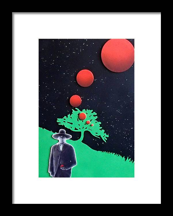 Wovoka Framed Print featuring the painting Wovoka by Philip Fleischer