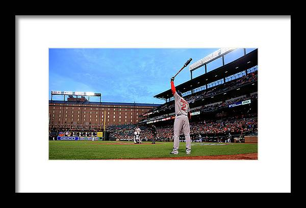 Second Inning Framed Print featuring the photograph Xander Bogaerts by Rob Carr