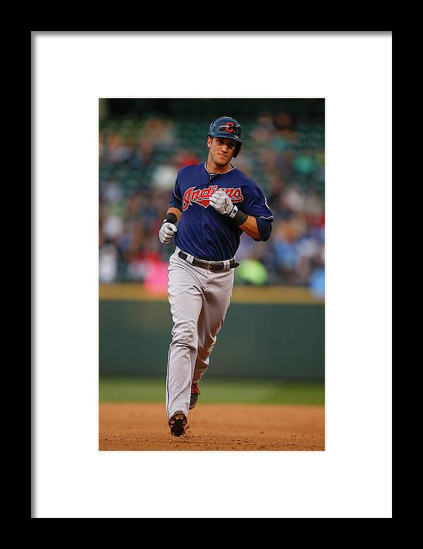 American League Baseball Framed Print featuring the photograph Yan Gomes by Otto Greule Jr
