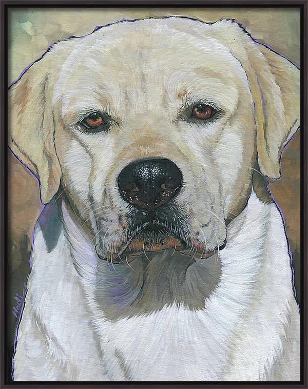 Yellow Labrador Retriever- Buddy by Nadi Spencer