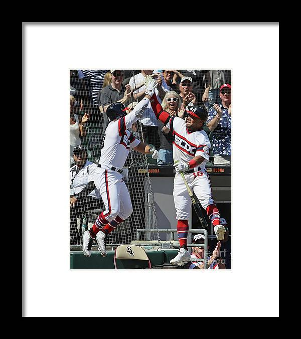 People Framed Print featuring the photograph Yoan Moncada by Jonathan Daniel