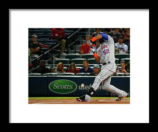 Atlanta Framed Print featuring the photograph Yoenis Cespedes by Kevin C. Cox