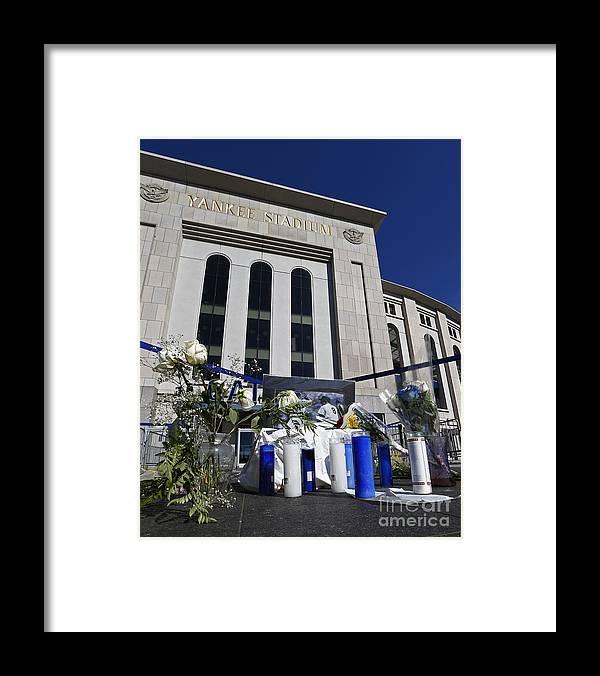 American League Baseball Framed Print featuring the photograph Yogi Berra by Rich Schultz