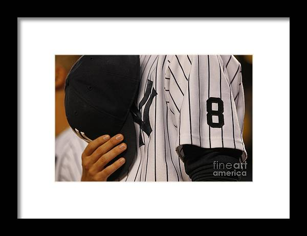 American League Baseball Framed Print featuring the photograph Yogi Berra by Richard Schultz