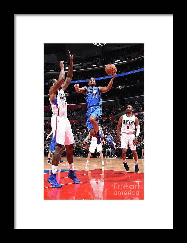 Nba Pro Basketball Framed Print featuring the photograph Yogi Ferrell by Andrew D. Bernstein