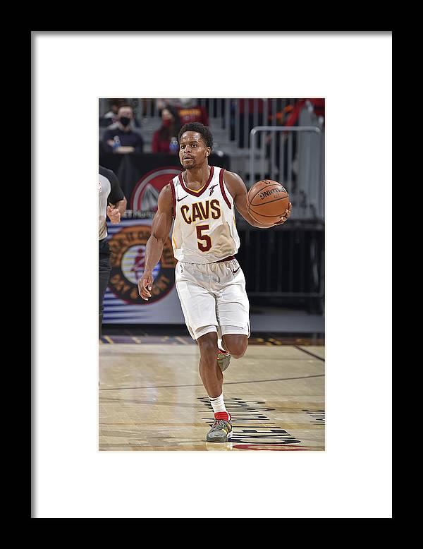 Nba Pro Basketball Framed Print featuring the photograph Yogi Ferrell by David Liam Kyle