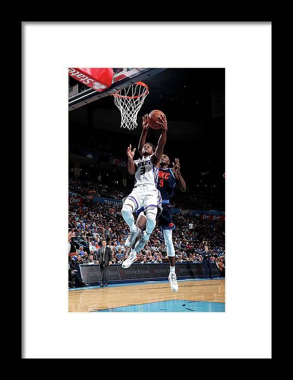 Nba Pro Basketball Framed Print featuring the photograph Yogi Ferrell by Joe Murphy