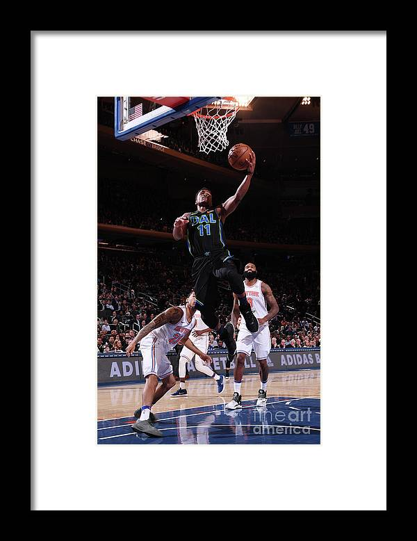 Sports Ball Framed Print featuring the photograph Yogi Ferrell by Nba Photos