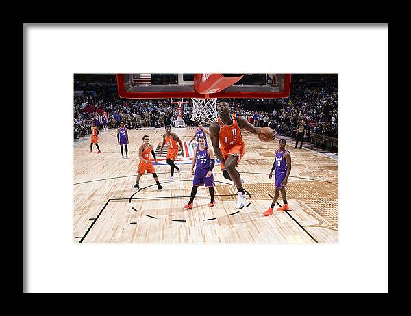 Nba Pro Basketball Framed Print featuring the photograph Zion Williamson by Jesse D. Garrabrant